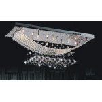 Lustre Design Crystal dimensions : 500X200mm hauteur 210mm