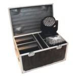Flight case pour 4 lyre Led Wash